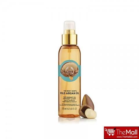 The Body Shop Wild Argan Oil The Radiant Oil For Body & Hair 125ml