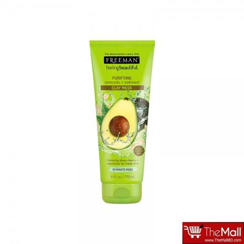 Freeman Avocado & Oatmeal Clay Mask Normal/Comb Skin 175ml