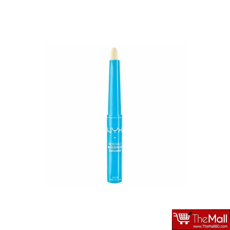 NYX Incredible Waterproof Concealer 1.4 g - CS03 Light