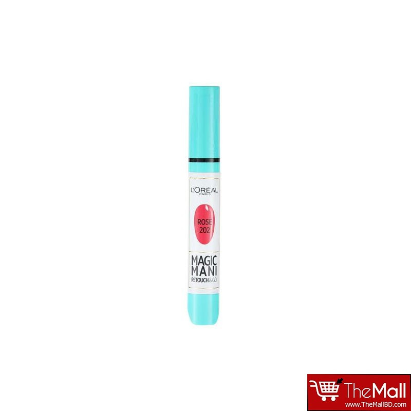 L'oreal Magic Mani Retouch & Go Manicure Pen - Rose 202