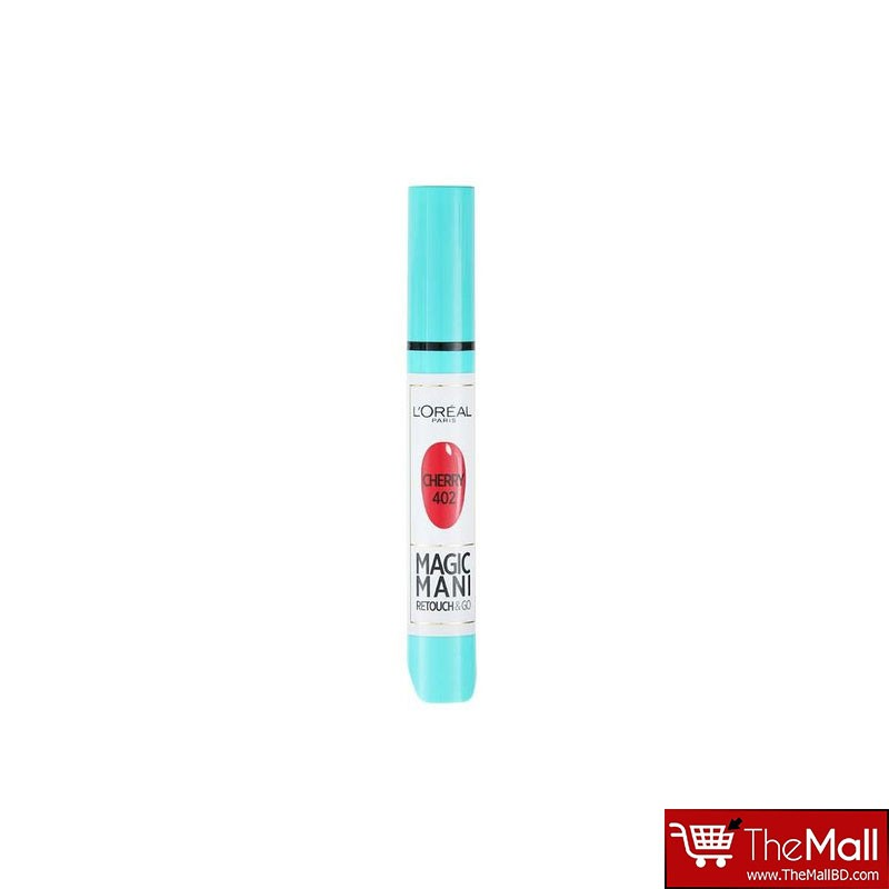 L'oreal Magic Mani Retouch & Go Manicure Pen - Cherry 402