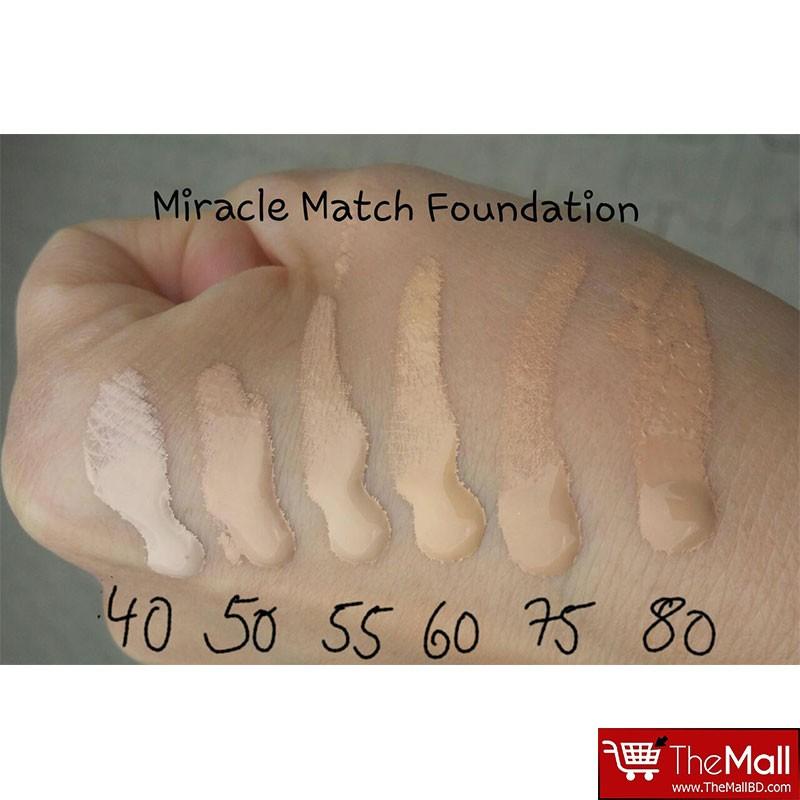 Max Factor Miracle Match Blur & Nourish Foundation - Light Ivory 40
