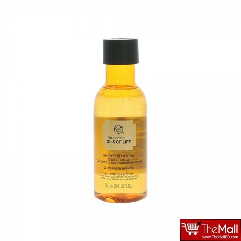 The Body Shop Oils of Life Intensely Revitalising Essence Lotion 160ml