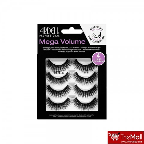Ardell  Mega Volume Eye Lashes 252 - 4 Pairs