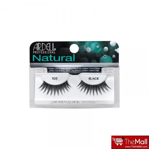 Ardell Natural False Eyelashes - 106 Black