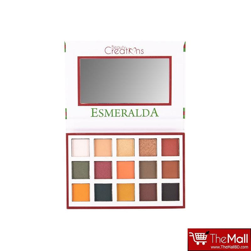 Beauty Creations Esmeralda Eyeshadow Palette 1 (017)
