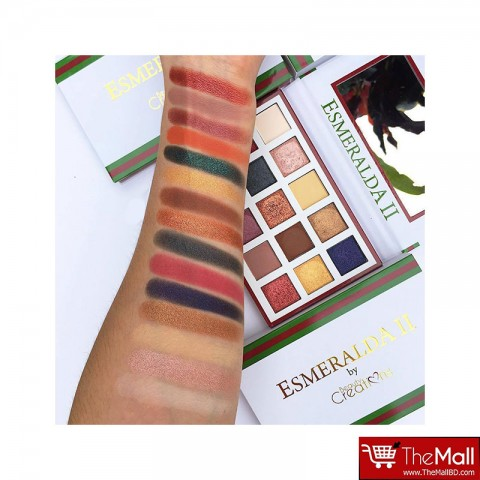 Beauty Creations Esmeralda Eyeshadow Palette 2 (413)