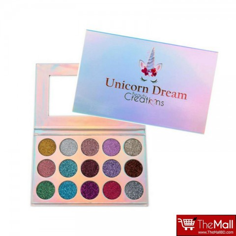 Beauty Creations Unicorn Dream Glitter Eyeshadow Palette