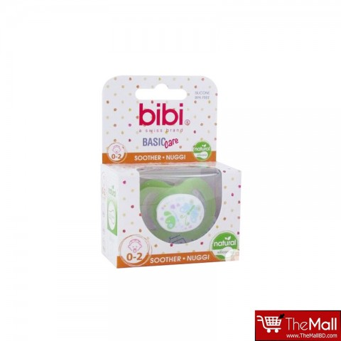 Bibi Basic Care Silicone Soother - 0-2 Months