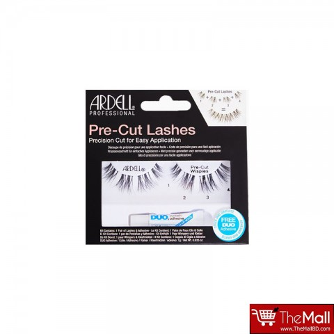 Ardell Pre Cut Lashes With Duo Adhesive Wispies