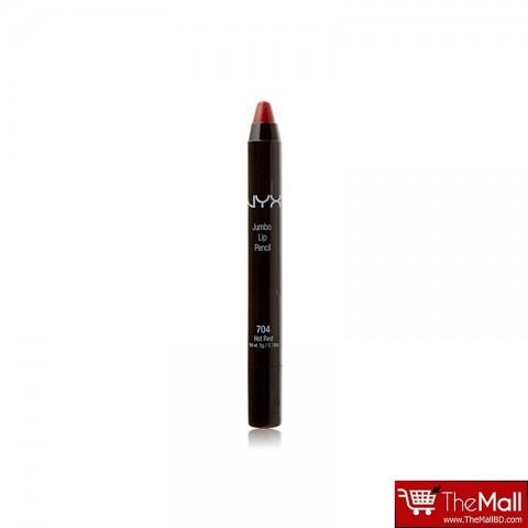 NYX Jumbo Lip Pencil 5g - 704 Hot Red