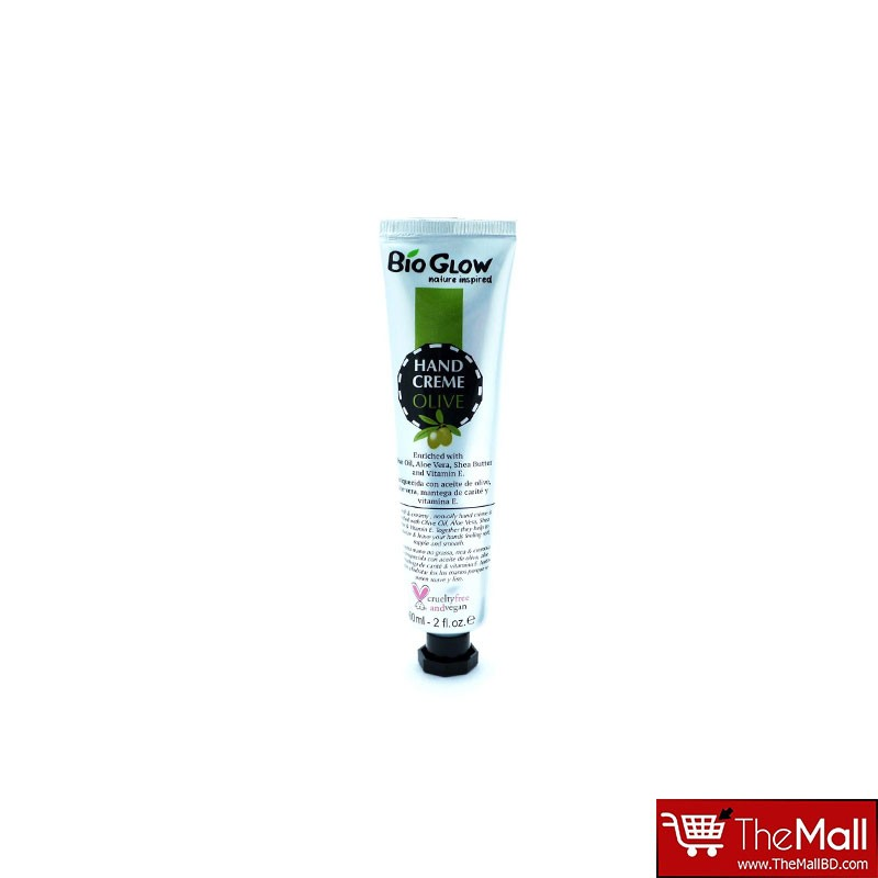 Bio Glow Hand Cream  60ml - Olive