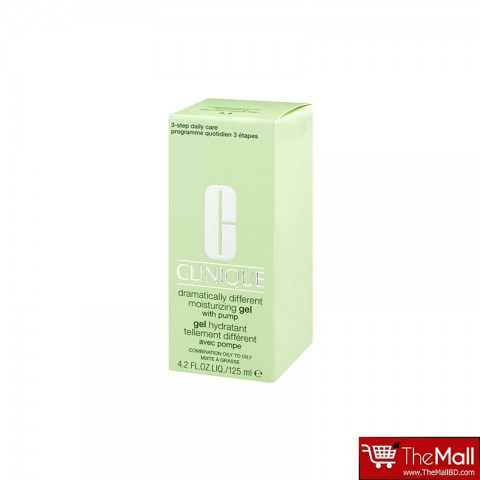 Clinique Dramatically Different Moisturizing Gel With Pump For Combination Oily To Oily 125ml