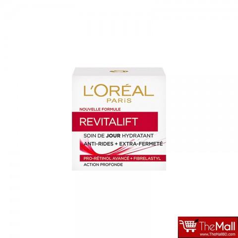 L'oreal Revitalift Soin De Jour Hydratant Anti Rides + Extra Fermete Day Cream 50ml