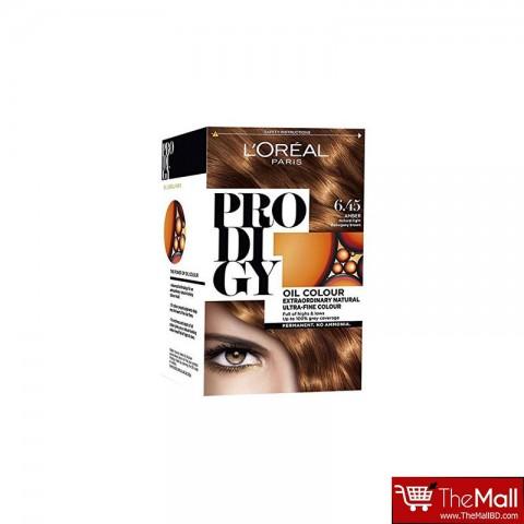 L'oreal Paris Pro Di Gy Extraordinary Natural Ultra Fine Oil Hair Colour - 6.45 Amber Natural Light Mahogany Brown