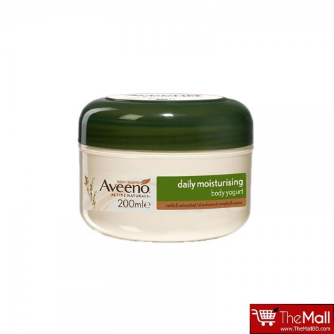 Aveeno Daily Moisturising Body Yogurt Vanilla & Oat Scented  200ml
