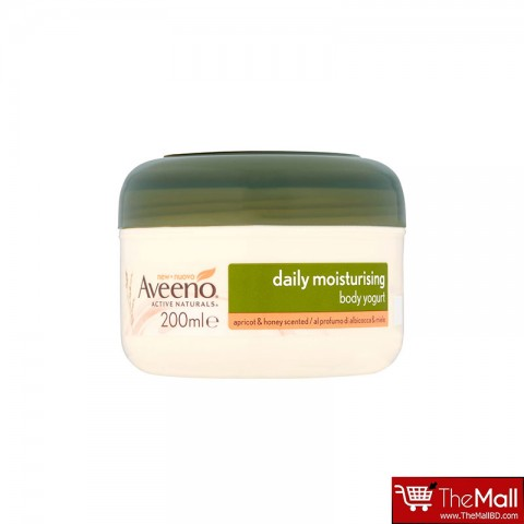 Aveeno Daily Moisturising Body Yogurt Apricot & Honey Scented 200ml