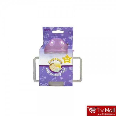 CHERUBS  First Drinking Cup 180ml - Pink