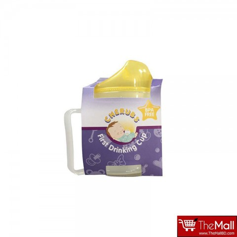 CHERUBS  First Drinking Cup 180ml - Yellow