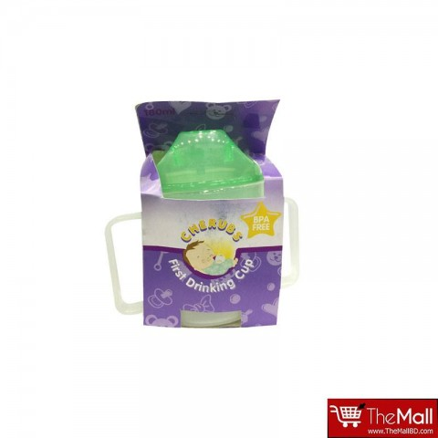 CHERUBS  First Drinking Cup 180ml - Green