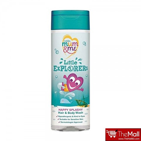 Cussons Mum & Me  Little Explorers Happy Splashy Hair & Body Wash 250ml
