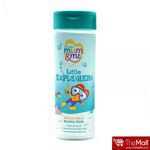 Cussons Mum & Me  Little Explorers Mega Mild Bubble Bath 500ml