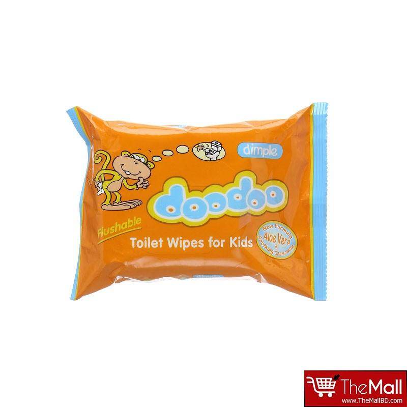 Doodoo Dimple Toilet Wipes 60s For Kids