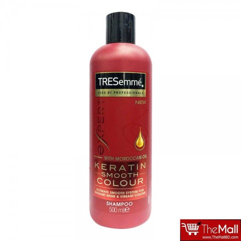 Tresemme Keratin Smooth Colour With Moroccan Oil Shampoo 500ml