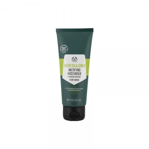 The Body Shop Green Tea & Lemon Mattifying Moisturiser For Men 100ml