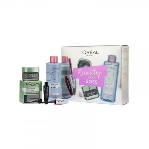 L'oreal Beauty Like a Boss Prep Skin Make Up Gift Set