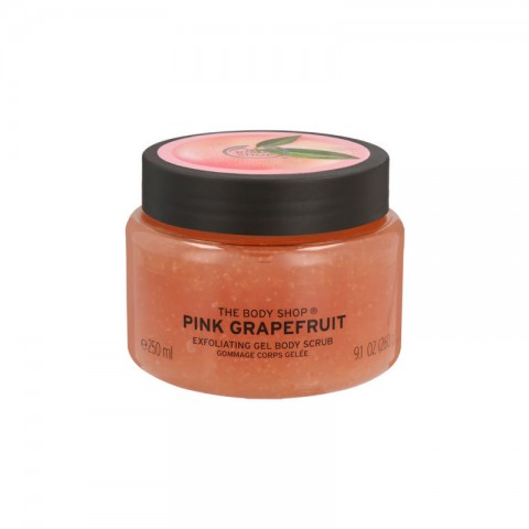 The Body Shop Pink Grapefruit Exfoliating Gel Body Scrub 250ml
