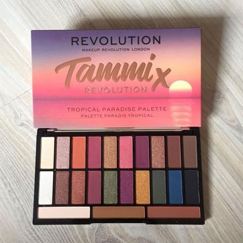 Makeup Revolution X Tammi Tropical Paradise Eyeshadow Palette