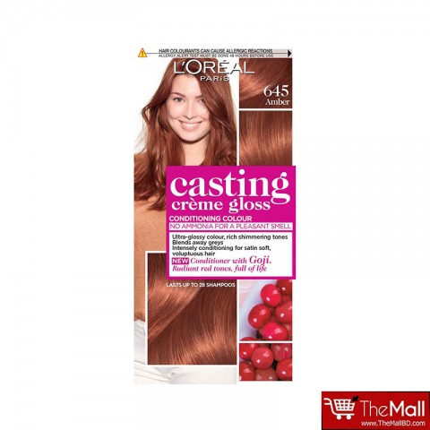 L'Oreal Casting Creme Gloss Conditioning Colour - 645 Amber