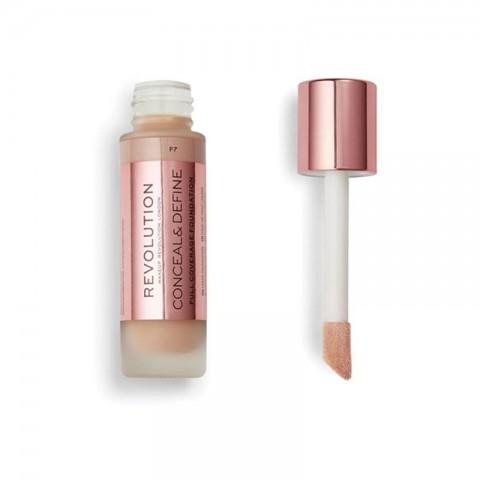 Makeup Revolution Conceal & Define Foundation 23ml - F7
