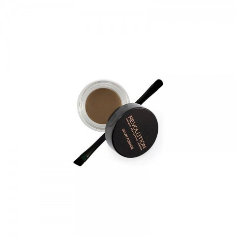 Makeup Revolution Brow Pomade With Double Ended Brush - Auburn 2.5g
