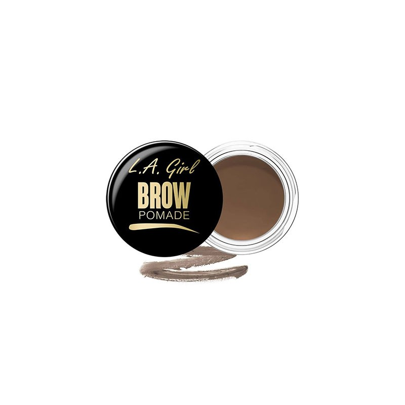 L.A. Girl Brow Pomade Long Lasting Gel Formula 3g - Taupe
