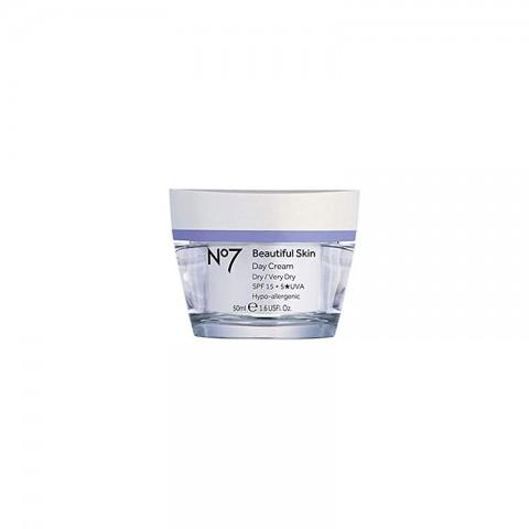 No7 Beautiful Skin Day Cream Dry Very Dry - Spf 15 50ml