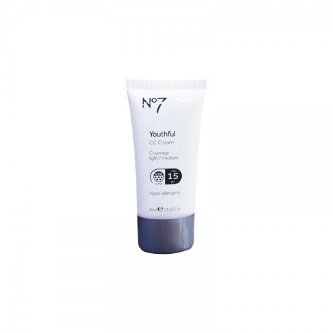 No7 Youthful Cc Cream Coverage Light Medium 15 Spf 40ml