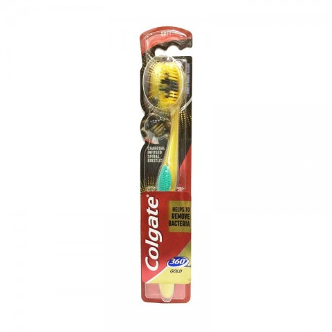 Colgate 360 Gold Soft Toothbrush - Pastel