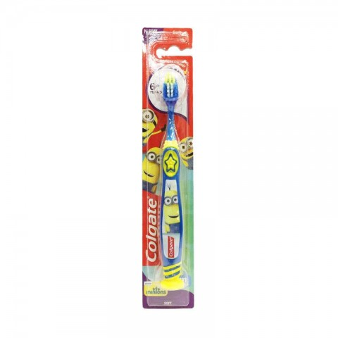 Colgate Smiles Junior 6+ Soft Toothbrush -  Blue & Yellow