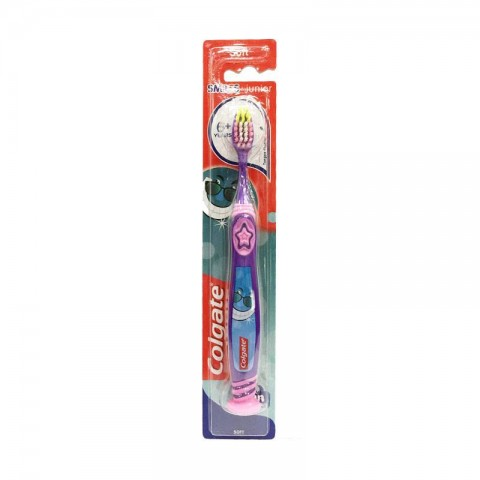 Colgate Smiles Junior 6+ Soft Toothbrush - Purple