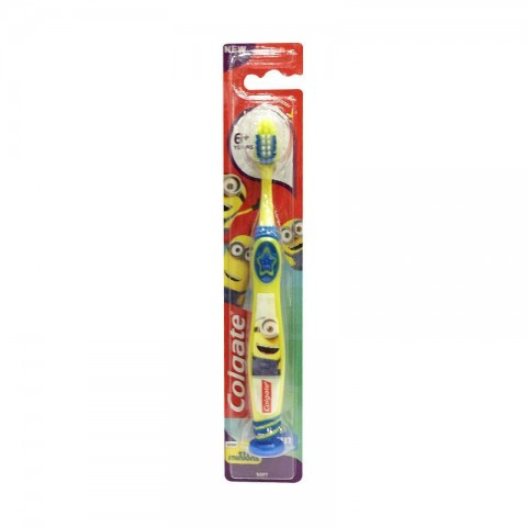 Colgate Smiles Junior 6+ Soft Toothbrush - Yellow