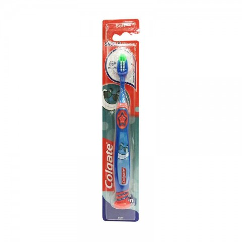 Colgate Smiles Junior 6+ Soft Toothbrush - Blue & Red