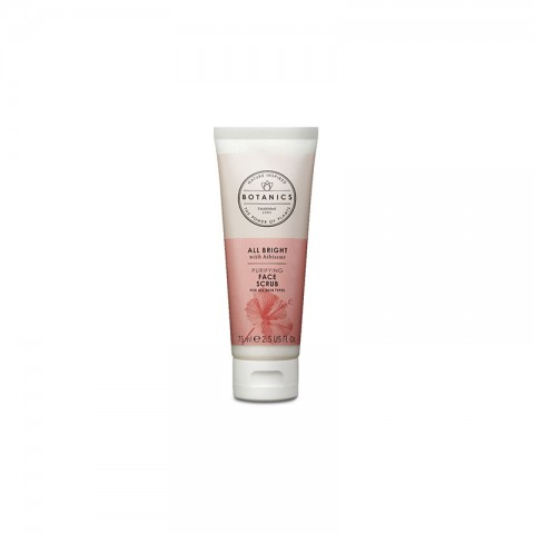 Boots Botanics All Bright With Hibiscus Purifying Face Scrub For All Skin Type 75ml
