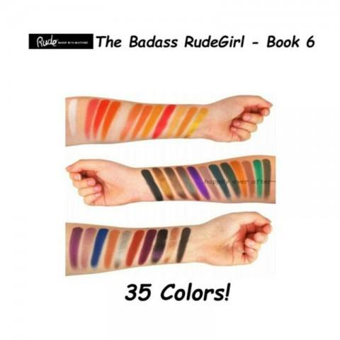 Rude The Badass Rude Girl Special Edition 35 Eyeshadow Palette - Book 6