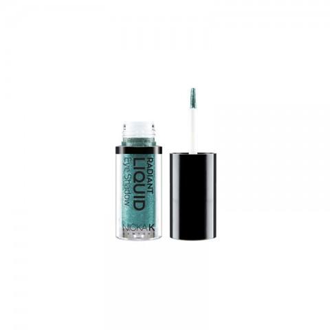 NICKA K Radiant Liquid Eye Shadow - NRE20 Marineblue Sparkle