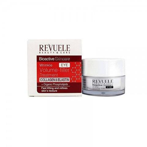 Revuele Bioactive Skincare Eye Wrinkle Volume Filler Treatment 25ml