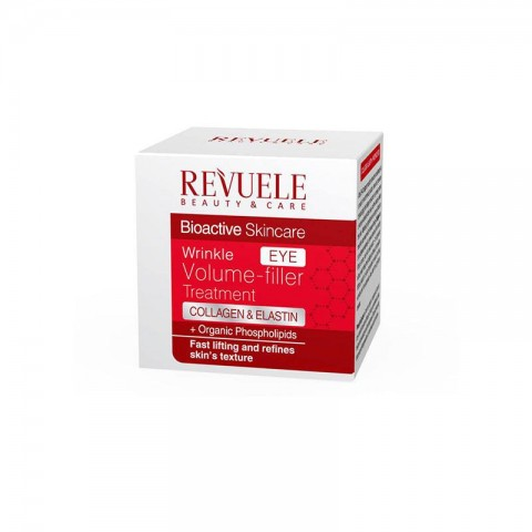 Revuele Bioactive Skincare Eye Wrinkle Volume Filler Treatment 25ml
