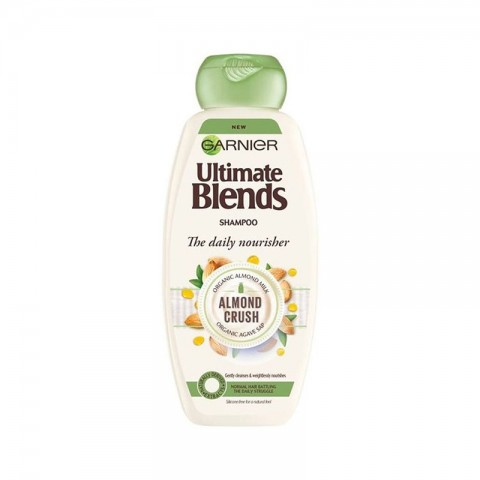 Garnier Ultimate Blends The Daily Nourisher Almond Crush Shampoo 360ml