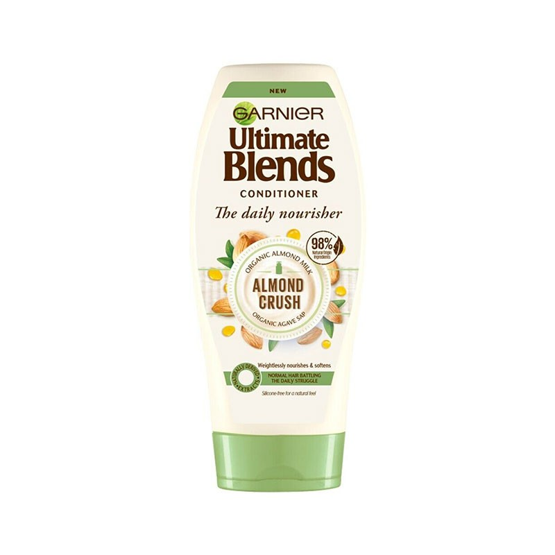Garnier Ultimate Blends The Daily Nourisher Almond Crush Conditioner 360ml